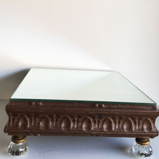 Glass Bronze Stand