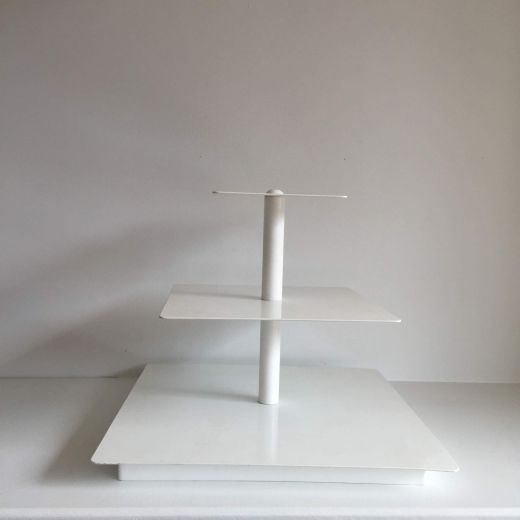 Small white 3 Tier Stand